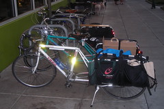 Three xtracycles at the Seven Corners New Seasons