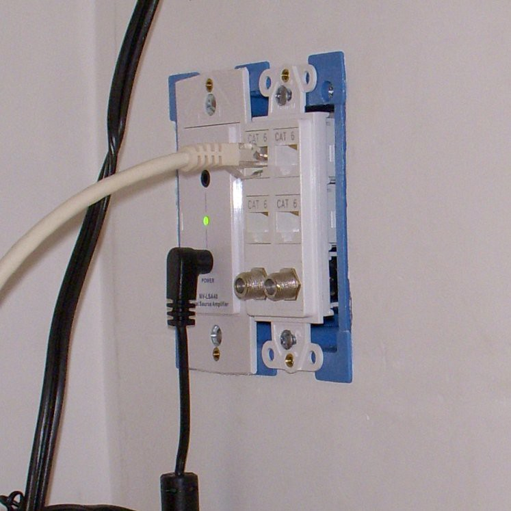 confessions of a total house geek structured wiring technology rh oldtownhome com Coaxial Cable Adapter Coaxial to HDMI