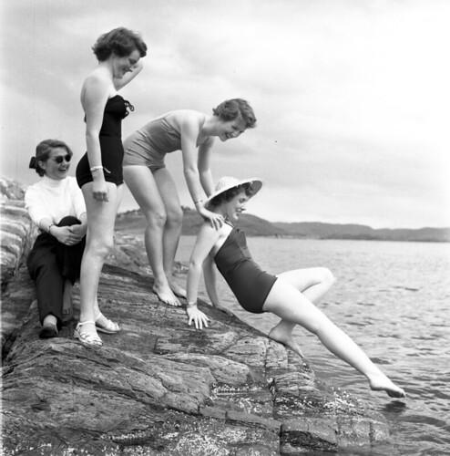 Badedrakter – anno 1954