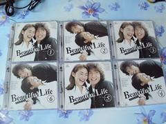 原裝絕版 1999年 日劇 美麗人生 Beautiful Life 木村拓哉 常盤貴子 主演 VCD 1-11集完 中古品 2