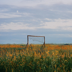 (dSavin) Tags: moon net square russia 2011    footballgoals