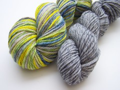 Lime in the Coconut Titan Twist Merino Yarn