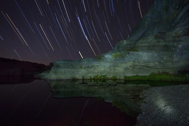 Stars Over Pedernales Falls