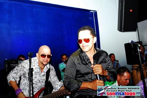 LUNA  NIGHTCLUB PRESENTA: Los Hermanos Bomba Rosario by Sonrisatogo.com