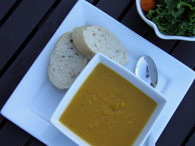 Butternut Squash and Vanilla Soup