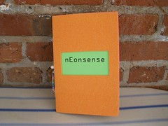 nEonsense (neon glittery) Tags: poetry chapbook creativewriting neonglittery