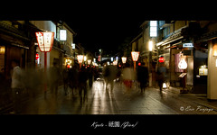 (Gion) (KyLoRi) Tags: travel japan night canon scenery kyoto 7d gion 1022mm canoneos7d