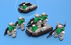 Chub Squad and ACT-02A Chub Tub ([Soren]) Tags: original lego groupshot mechaton