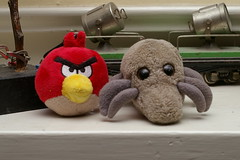 Dust Mite & Angry Bird