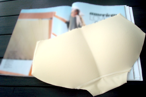 PADDED SEAMLESS BOYSHORT - B