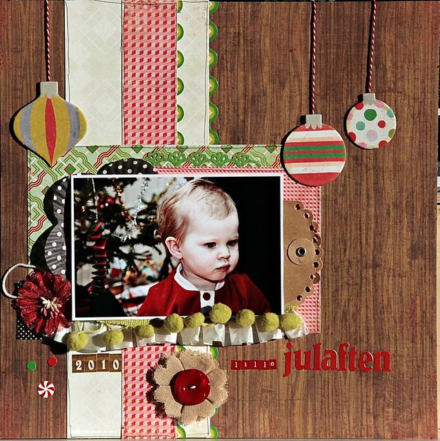 lille julaften swe scrapbook skiss umenorskan
