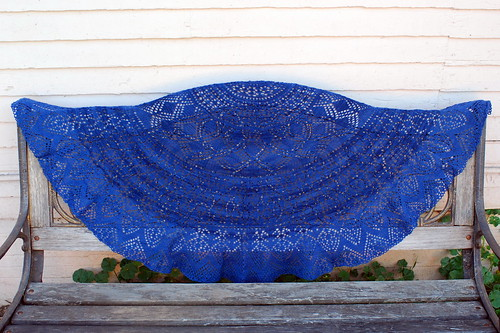 my first lace shawl