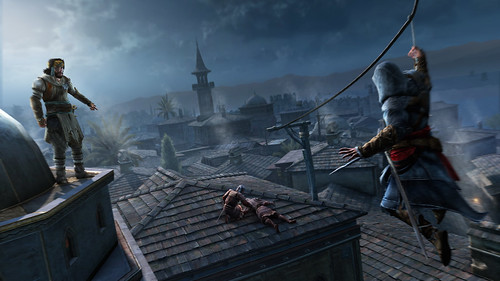 Assassin's Creed Revelations Constantinople_ZiplineWithYusuf