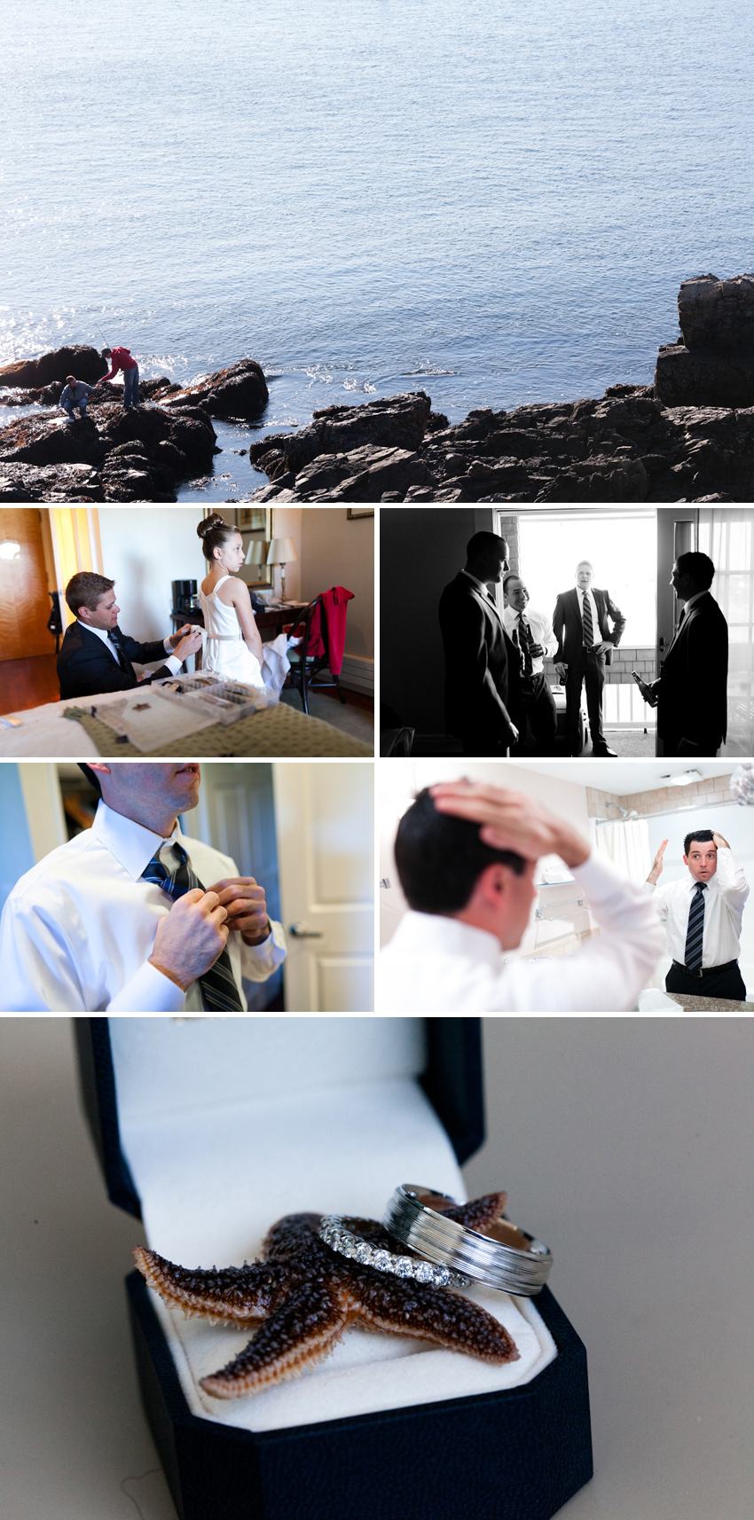 Maine wedding by Kansas City wedding photographer Darbi G.