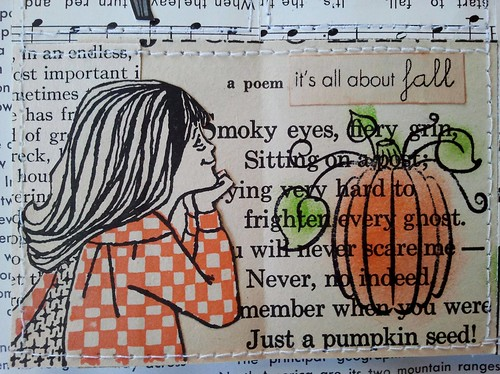 Pumpkin Tiny Book First Layout