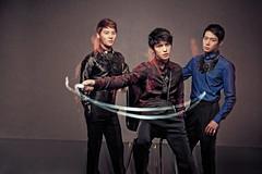 [フリー画像素材] 人物, 男性, 人物 - 三人, 韓国人, 男性 - アジア ID:201110180600