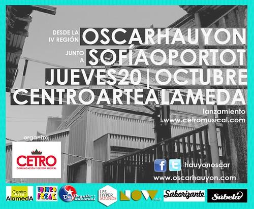JUEVES 20/OCTUBRE: CENTRO ARTE ALAMEDA by Oscar Hauyon