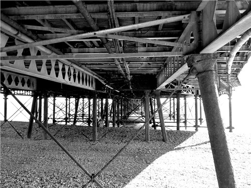 Under the pier by PhotoPuddle