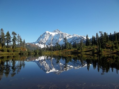 Mt Shuksun Picture Lake 10.18.11