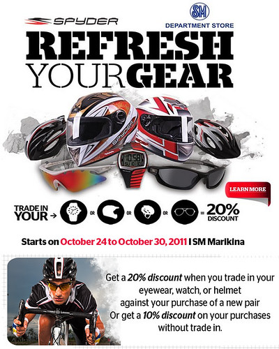 Spyder Refresh Your Gear 2011