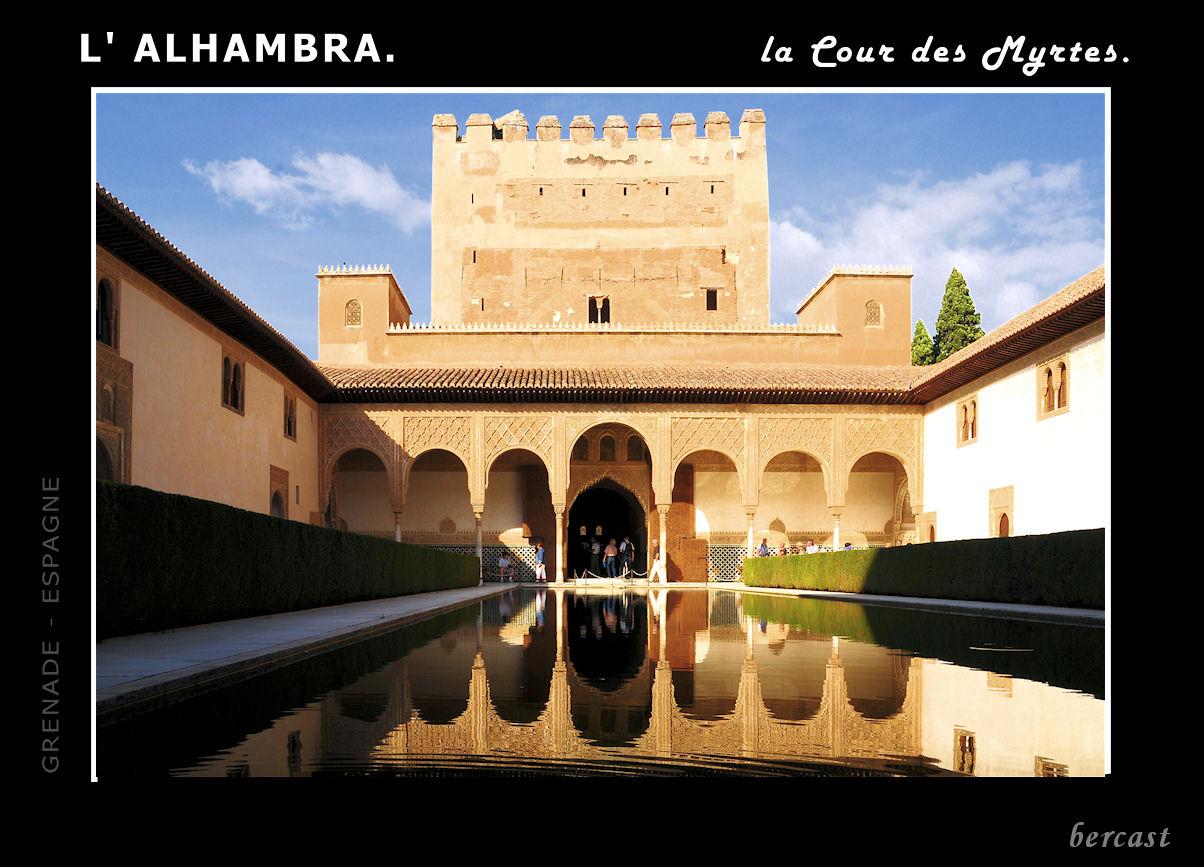 10.Carte Alhambra. Cour des Myrtes.red1.