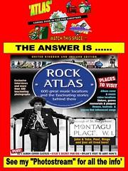 "The Answer:-  A fantastic Pop & Rock book called ...."" ROCK ATLAS "" (Eddie Evans) Tags: book oasis bobdylan billy beatles hendrix fury bolan rockatlas"