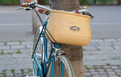 Nantucket Bike Basket via German Importer