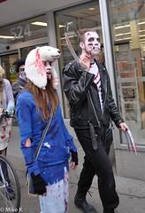 Zombie_Walk_218 (Pardon The Lens) Tags: toronto ontario canada halloween dead scary blood nikon zombie makeup brains gore undead downtowntoronto zombiewalk torontozombiewalk tzw nikond90 102211 zombiewalktoronto braindrive torontozombiewalk2011 oct2211 tzw11 tzw2011