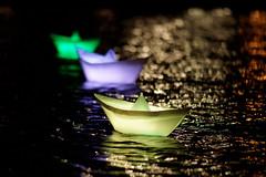 Little Bright Yellow Boat (mattrkeyworth) Tags: longexposure light lake berlin water yellow festival night zeiss boats deutschland licht origami wasser nightshot bright nacht sony hauptstadt illumination illuminated potsdamerplatz alpha nuit festivaloflights beleuchtung nachtaufnahme schiffchen langzeitbelichtung lichtkunst a900 sonyalpha nightset berlinilluminiert sal135f18z lightboats sonyalphaa900 sonya900 mattrkeyworth pianosee sonnart18135 festivaloflights2011 berlinilluminiert2011 dieschiffchen lpbright lp2011winners