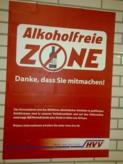 Hamburg: Alkoholfreie Zone!