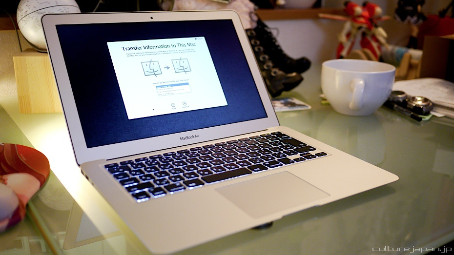 how to change passwords on my macbook air