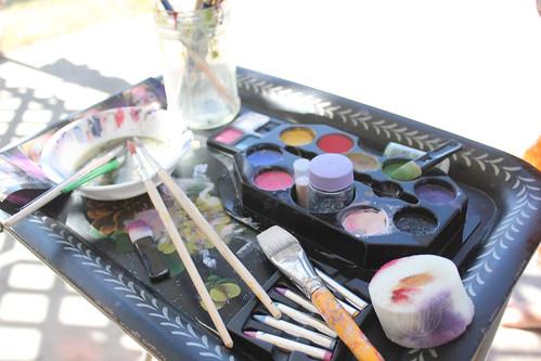 face painting kit that ROCKS