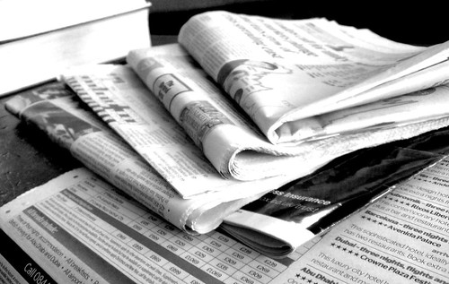 Newspapers B&W (3)