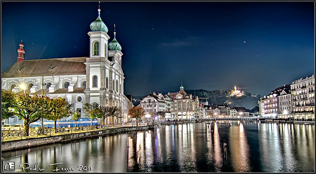 Suiza - Pueblos con encanto - Lucerna - Jesuitenkirchen