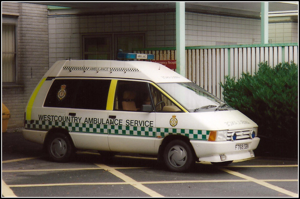Westcountry Ambulance F768SBK