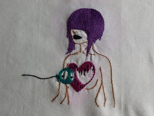 Tara McPherson Stitching