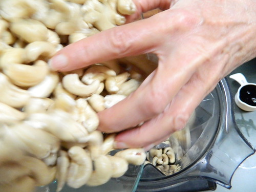 Adding the Cashews