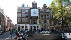 Houses in the Jordaan (cattleclasstraveler) Tags: netherlands amsterdam jordaan noordholland canalhouse