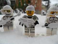 Snowldat Squad (Blockburn12) Tags: winter snow soldier lego minifig brickarms