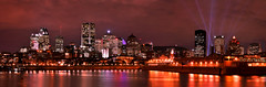 Montreal skyline (Surrealplaces) Tags: montreal quebec canada skyline cityscape night nuit centreville centre ville calgary
