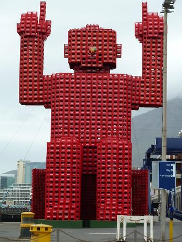 Coca Cola man