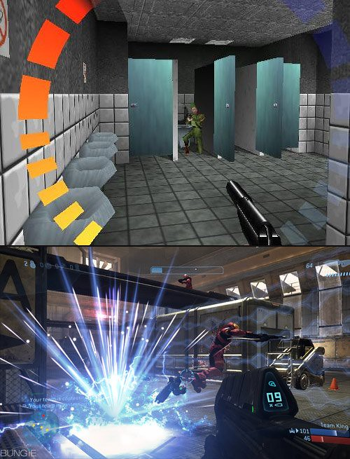 GoldenEye 64 vs Halo 3