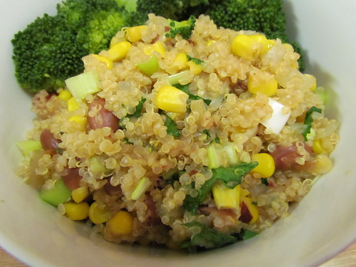 Chipotle Corn and Quinoa with Pintos