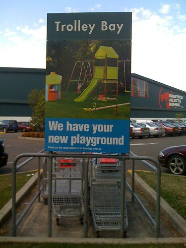 Trolley Bay, your new playground @Bunnings