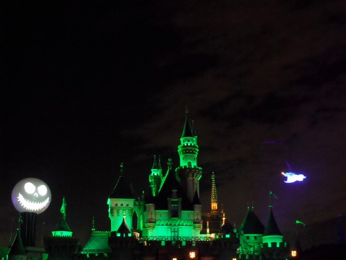 Dark Sleeping Beauty Castle