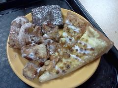 Dessert collection (Morton Fox) Tags: food de pizza cicis buffet newark