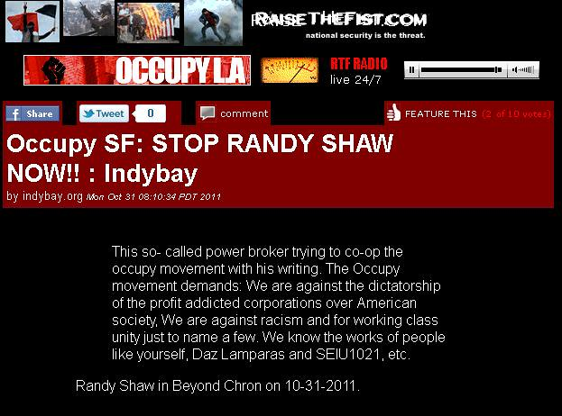 occupysf.stop.randy.shaw