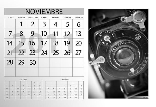 calendario 2011 - Azaroa · Noviembre
