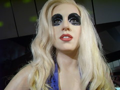 Lady GaGa (richiiebam) Tags: new york madame pet face monster statue shop lady ball john dark stars disco star us dance cowboy glory space telephone fame bad piano remix award style icon romance lancashire billboard just poker american edge ama mtv merlin figure singer blonde paparazzi stick caca celeb blackpool elton judas ema outfits gaga tussauds mega brits waxwork beyonce youtube lovegame ladygaga sheibe