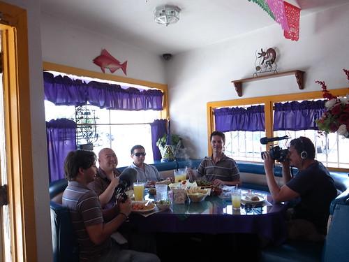 Lunch at Los Eduardo's